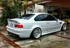 BMW E46 M3 white