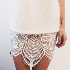 Lacey legs  #guavaskirt #forloveandlemons