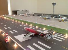 Herpa 1:500 Airport Diarama