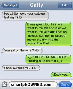 15 Wildly Inappropriate Auto-Corrects - Autocorrect Fails and Funny Text Messages - SmartphOWNED