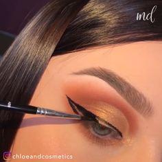 Best 4 simple eye makeup looks tutorial Makeup Eye Looks, Eye Makeup Steps, Beautiful Eye Makeup, Simple Eye Makeup, Cute Makeup, Eyebrow Makeup, Eyeshadow Makeup, Makeup Art, Makeup Eyes