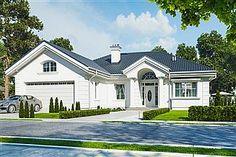 Dylatacja - czym jest i kiedy należy ją stosować? Beautiful House Plans, Dream House Plans, Beautiful Homes, Model House Plan, Bungalow House Design, Cottage Plan, Living Room Green, Home Projects, My House