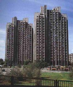 Block 23, Novi Beograd, Belgrade, Serbia, 1968-74