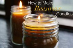 Candles just make a home feel cozy. It's something about the soft flickering light, I think. It sets a relaxing mood. With their golden yellow color and light honey scent, beeswax candles are the c...