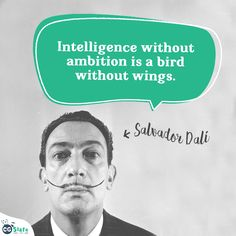 #CGSlate #Education #Knowledge #Quotes #Motivation #Inspiration #Inspire #Educate #Learning #Fun #SalvadorDali