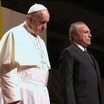 PMDB ignora o escrúpulo e leva ao ar programa político em que a estrela maior é o papa Francisco