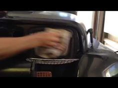 Clean your foggy headlights with Repel bug spray Jeep Wrangler YJ - YouTube