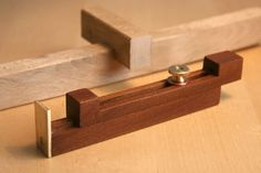 Kerfmaker - Brass'n wood! (and How to use a Kerfmaker) - by mafe @ LumberJocks.com ~ woodworking community