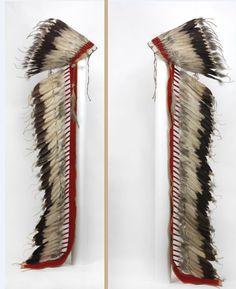 Cheyenne or Sioux bonnet.  Univ. Penn. Mus  ac