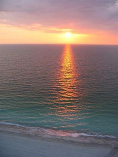 Clearwater, FL- i love walking the beach after work then sitting down to a great Frenchy's dinner and watching the sunsets.