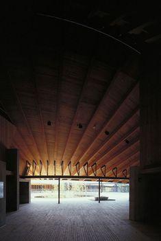 Makino Memorial Hall by Hiroshi Naito and Associates, Japan 内藤廣 《牧野富太郎記念館》