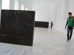 Corten Steel, Richard Serra - Reina Sofia Museum in Madrid, Spain