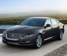 2017 Jaguar XJ front