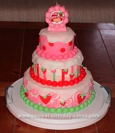 I love it! I'm making this but newer strawberry shortcake character So excited she is going to love it!