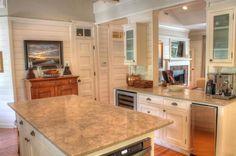 Sullivan's Island Gigi House panelling shiplap cottage details kitchen entry