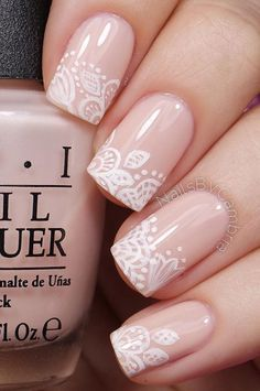 Floral inspired nude nail art. Give life to your nude nails by adding white polish on the tips with flower details on them. Nude Nail polish: Always trending Owing to the fast changing trend of nail art, you might find… Continue Reading →