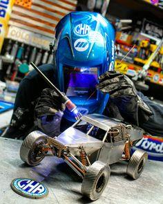 Baja buggy cold hard art metal art welding