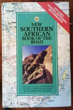 AA RSA New Southern African Book of The Road / Hardcover 1992 / 360 Pages