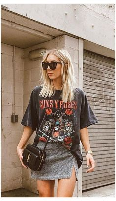 Grunge Outfits, Boho Outfits, Retro Outfits, Cute Casual Outfits, Vintage Outfits, Fashion Outfits, Emo Fashion, Edgy Chic Outfits, Simple Edgy Outfits