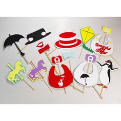 Mary poppins baby shower themed party props by LeStudioRose