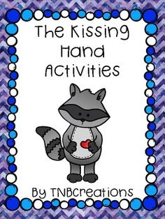 The Kissing Hand by Audrey Penn is a wonderful book to read on the first day of school! These fun activities include worksheets and task cards that go along perfectly with the book and are great for checking for understanding and discussing the meaning of the story!
