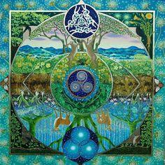 42 best ideas for tree of life circle tattoo sacred geometry Mandala Art, Mandala Painting, Mandala Tattoo, Art Visionnaire, Circle Tattoos, Magic Circle, Illustration, Celtic Art, Celtic Dragon