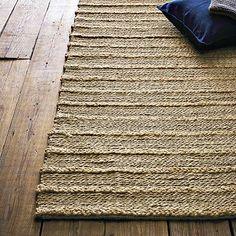 Rope Chain Chunky Jute Rug - Natural #WestElm