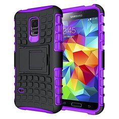 Galaxy S5 Case, Cocomii® [HEAVY DUTY] Titan Case **NEW** [ULTRA GRENADE ARMOR] Premium Built-in Kickstand Bumper Case [MILITARY DEFENDER] Full-body Rugged Dual Layer Hybrid Cover (Black/Purple) ★★★★★ Cocomii http://www.amazon.com/dp/B013FKE4KS/ref=cm_sw_r_pi_dp_PMo8vb13MADKV