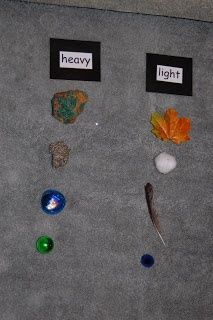 Heavy And Light On Pinterest Cookie Sheet Activities