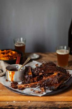 Sticky BBQ Spare Ribs with Coffee Rub | Crush Magazine