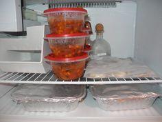 Postpartum vegetarian freezer meals