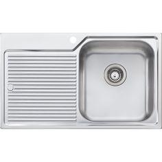 """Found it at Wayfair Supply - Canberra 32.25"""" x 19.75"""" Single Bowl Kitchen Sink"""