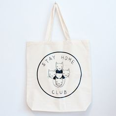 Bolsa | Stay Home Tote bag