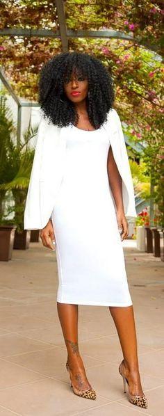 White Blazer   Little White Dress - Style Pantry
