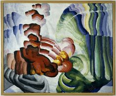 Frantisek Kupka (1871 - 1957)  Compliment 1912