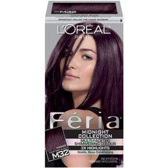 Oreal Feria Hair Color 36 Chocolate Cherry Deep Burgundy