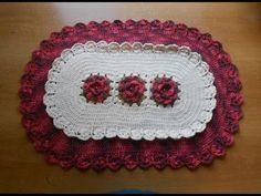 Croche Tapete com Flores e Babadinhos Parte3
