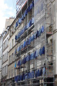 Paris. Quartier du marais