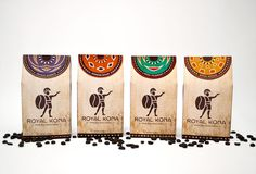 Optical Bliss: Coffee Packaging