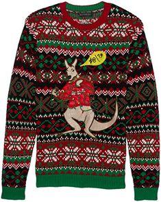 Blizzard Bay Mens Llama Pegasus Ugly Christmas Sweater Sweater