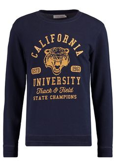 Pier One Sweatshirt - navy melange - Zalando.co.uk