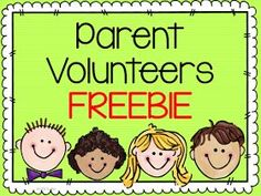 Free Editable Thank You CardsTags For Your Class Volunteers And