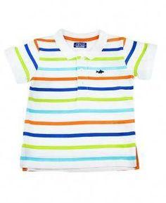 'Minoti' Striped polo Shirt