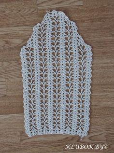 Crochet Knitting Handicraft: Jacket