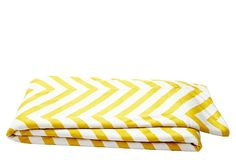 Chevron Throw, Lemon Curry on OneKingsLane.com