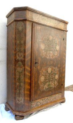 Armadio dipinto - prov. Carinzia  Antichità Evelina - Vendita mobili antichi tirolesi  Mobili ...