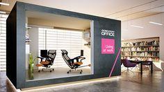 :: smashing studio - mPosition :: graphic + interior by smashing studio, via Behance Organization, Organizing, Interior Design, Studio, Furniture, Home Decor, Behance, 3d, Spaces