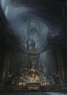 Discover a selection of artwork from, Bloodborne, a dark fantasy RPG developed by FromSoftware, produced with SIE Japan Studio and published by Sony Bloodborne Concept Art, Bloodborne Art, Fantasy Concept Art, Dark Fantasy Art, Dark Souls Art, Lovecraftian Horror, Old Blood, Fantasy Places, Evanescence