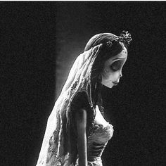 Corpse Bride - this image reminds me a little of Isobel - the man she loves in love with someone else, and she's powerless to stop it.