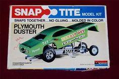 Funny Car Model Kits | ... -Monogram-PLYMOUTH-DUSTER-Funny-Car-Dragster-MODEL-Car-KIT-NHRA-8277